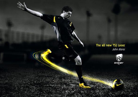 lavar Subir Babosa de mar  Nike in Soccer. Implied Motion in design.   Nike poster, Adidas poster, Nike  ad