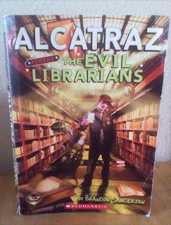 Tesseract Books Alcatraz Versus The Evil Librarians By Brandon