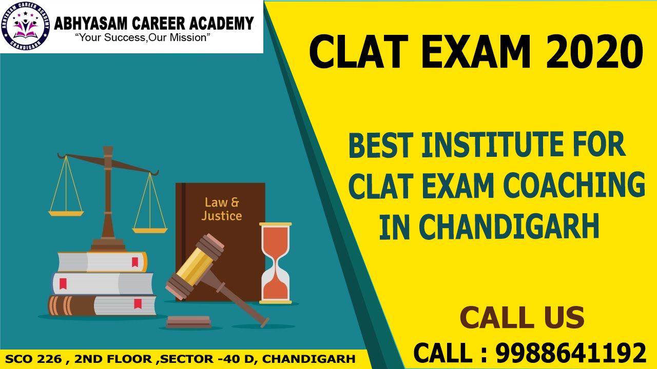 Clat Coaching In Chandigarh Law Entrance Exam Coaching