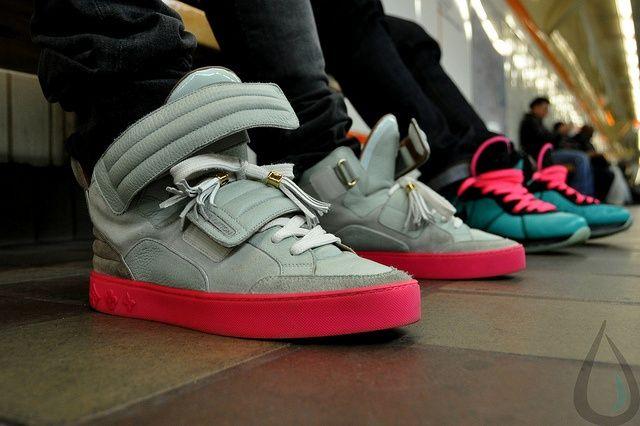 Louis Vuitton Kanye West Patchwork Jasper Sneakers Louis Vuitton Sneakers Louis Vuitton Shoes