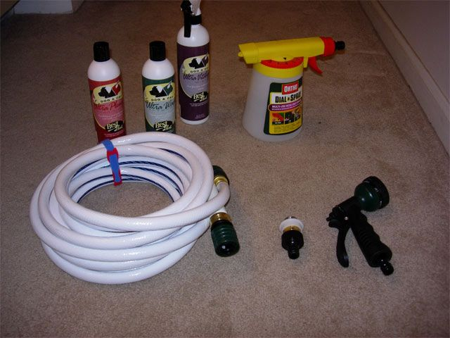 Homemade Hydrosurge System For About 30 Dog Bathing System