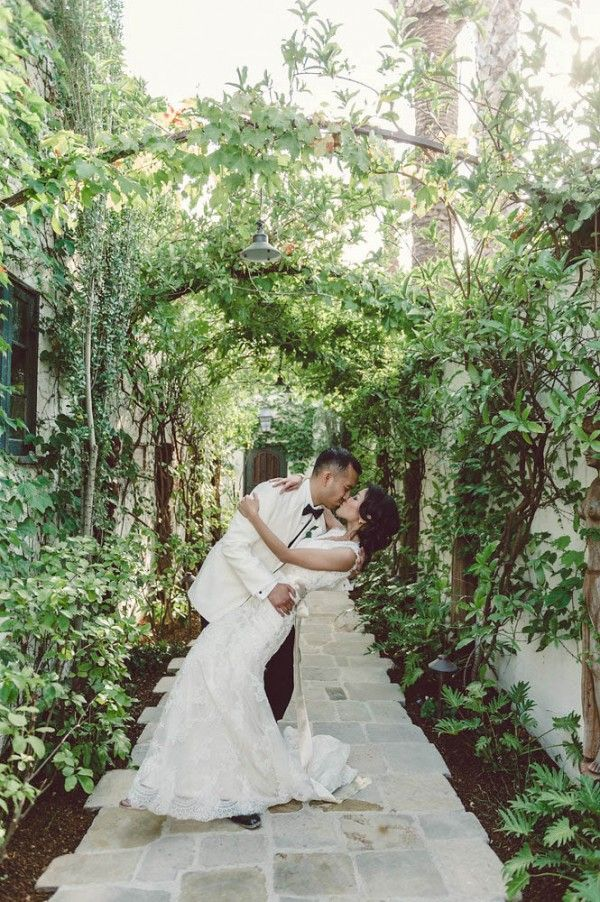 Cly Emerald And Gold Wedding At The Villa San Juan Capistrano