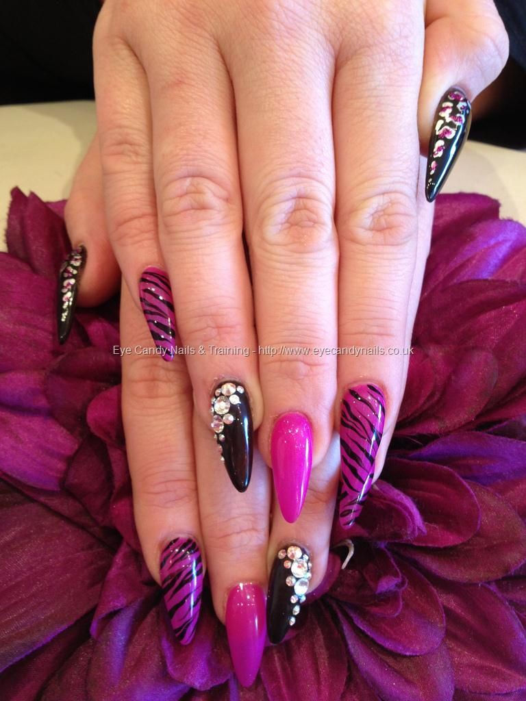 Know More about Stiletto Nails Something About Nails source ...