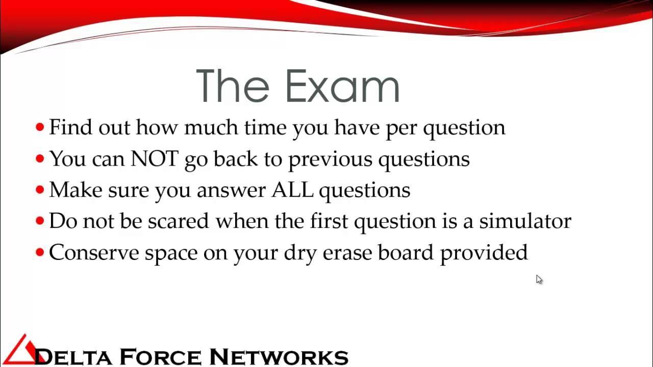 Tips Tricks To Pass Cisco Ccna Exam Networking Cisco