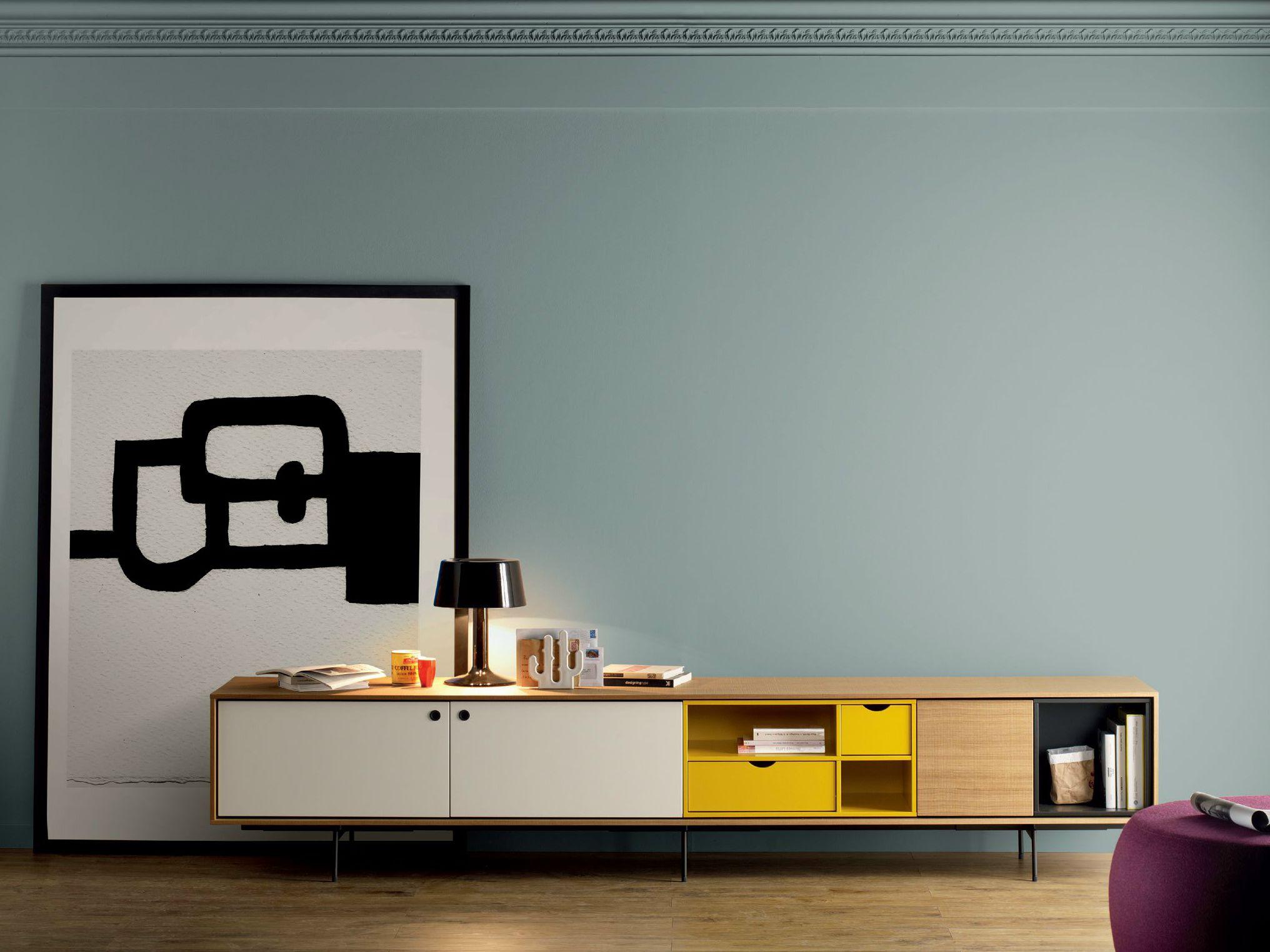 Contemporary style wooden sideboard aura c9 aura for Empresa vasca muebles baratos