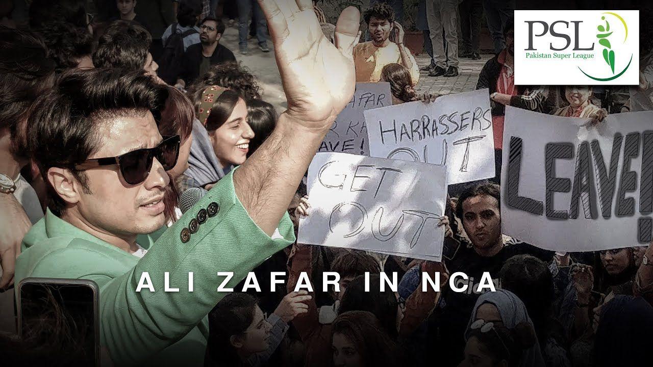 Ali Zafar visits NCA Lahore for PSL Anthem 2020 Hamza