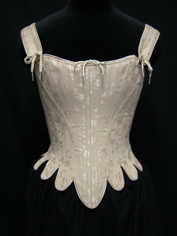257a4fa225a 18th Century Corset Reenactment Marie Antoinette Bodice.