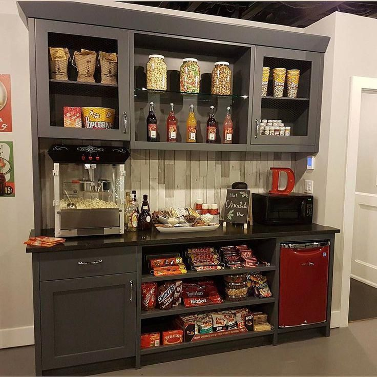 Theater Room Snack Bar: Home Theater Design, Movie Theater Rooms