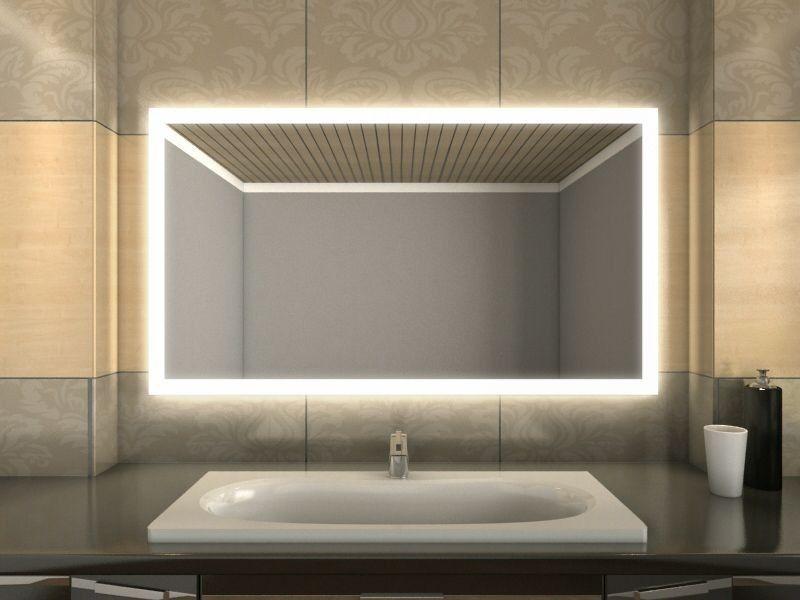 Badezimmer Wandspiegel Beleuchtung Badezimmerspiegel Beleuchtung