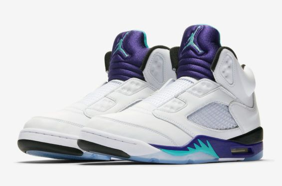 sports shoes 0b186 ddab7 Official Images  Air Jordan 5 NRG Fresh Prince Will Smith will be turning  50 years