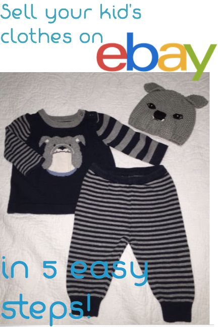 e38a03f3d88ae How to Sell Baby and Kids Clothes on eBay in 5 Easy Steps |  alsoknownasmama.com