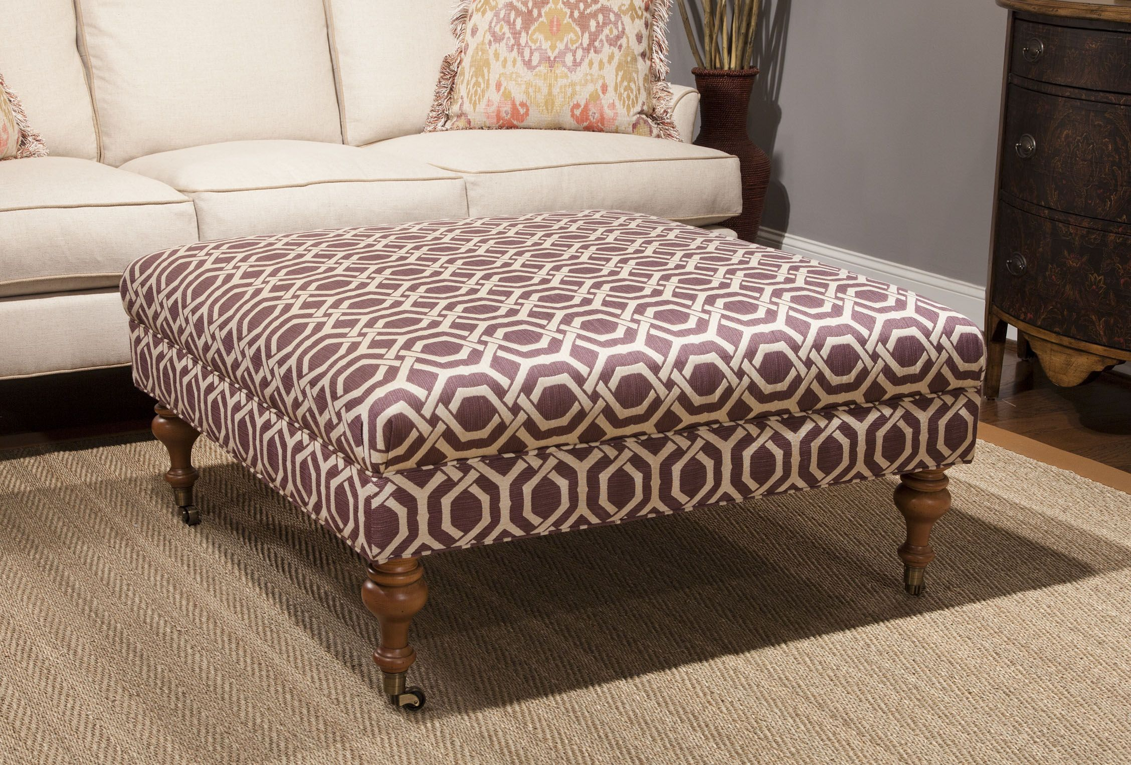 2017H 55 40 Ottoman from Huntington House Furniture High Point