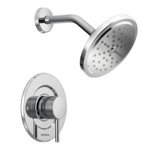 shower faucet kit with valve. MOEN Align 1 Handle Moentrol Shower Faucet Trim Kit In Chrome  Valve Not Included