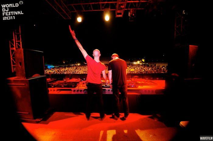 Dada Life @ World DJ Festival 2011 #Dadalife #WDF #Worlddjfestival #festival #electronic