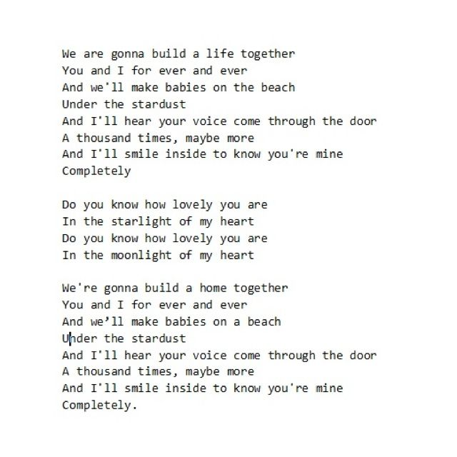 Pin By Abby Rose On Words Angus Julia Stone Words Wedding Song Lyrics