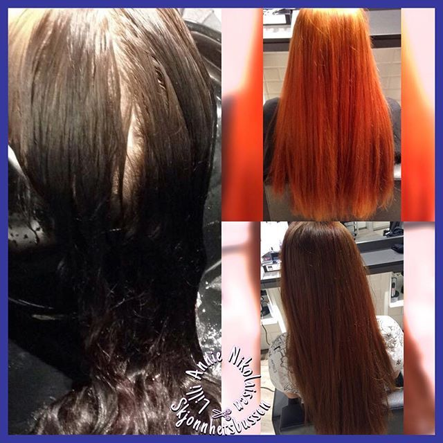 black hair color remover hair build up color remover on close to black hair and then put brown in so the clientu2026