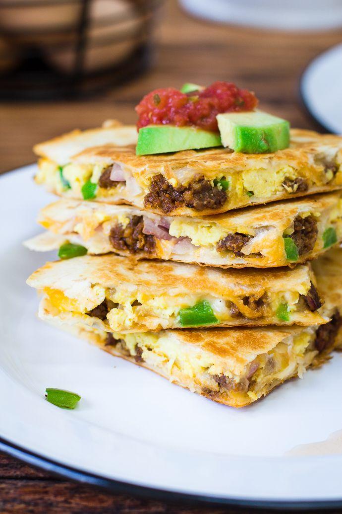 A ti me encantaría hacerte el desayuno todos los días. Breakfast Quesadillas!!