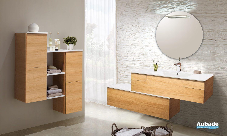 Meubles salle de bains Collection Evok Lido  Espace Aubade