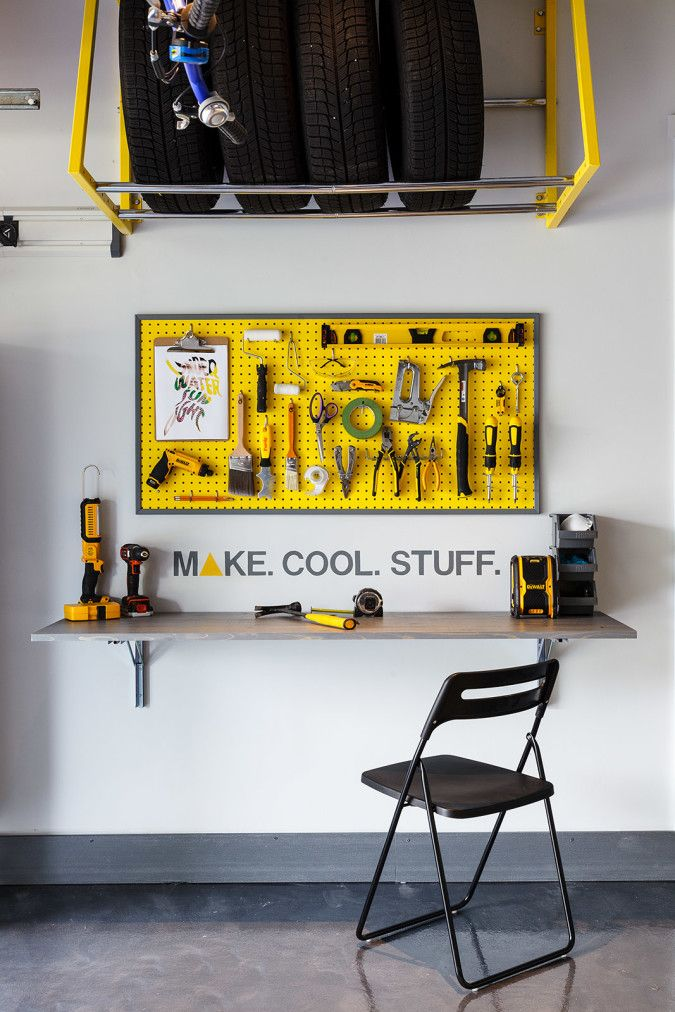 my diy dream garage makeover via www huelala com folding on cool diy garage organization ideas 7 measure guide on garage organization id=21282