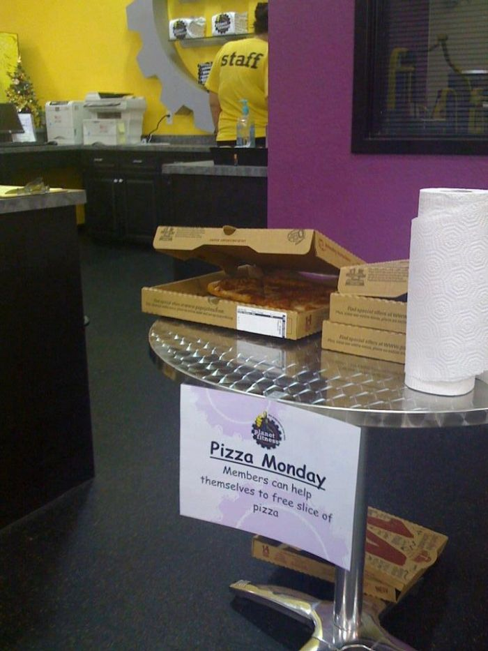 Planet Fitness Pizza Monday : planet, fitness, pizza, monday, Meanwhile, Planet, Fitness, Workout,, Fail,