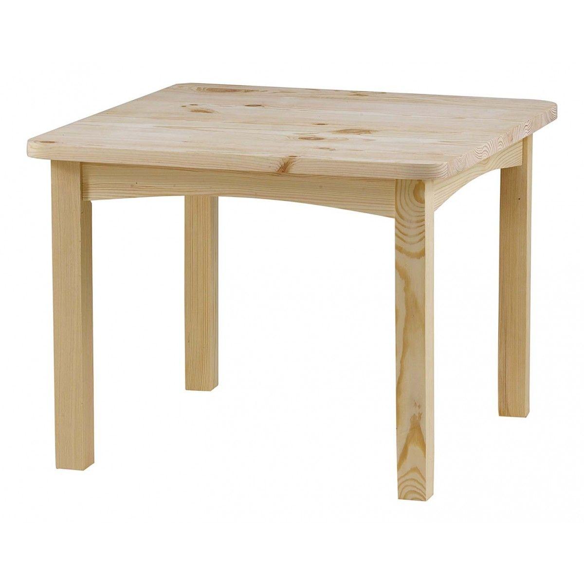 table enfant rustique pin massif | grenier alpin | table repas en