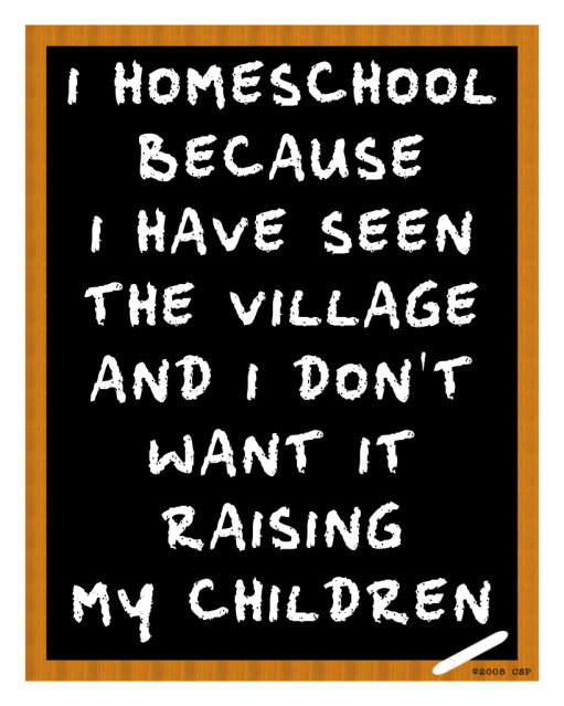 I just happen to live in a Village.