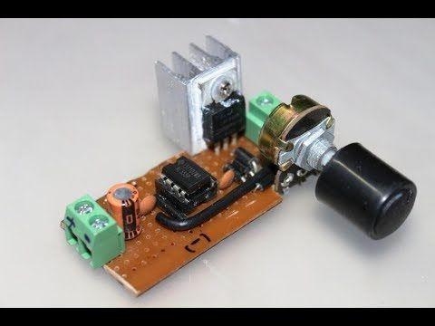 12 Volt Dc Variable Speed Motor Controller