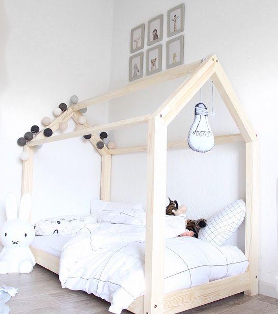 Mon DIY Le fameux lit cabane Montessori facile et rapide un tuto - prix des gros oeuvres maison