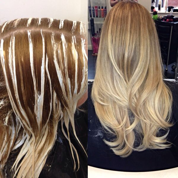 balayage ombre fringe benefit haarfarben blonde haare. Black Bedroom Furniture Sets. Home Design Ideas