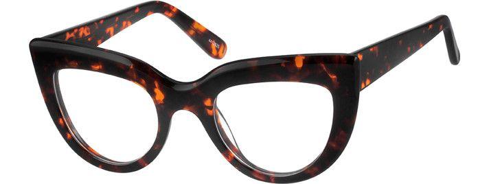 Tortoiseshell Cat Eye Glasses 4412625 Zenni Optical