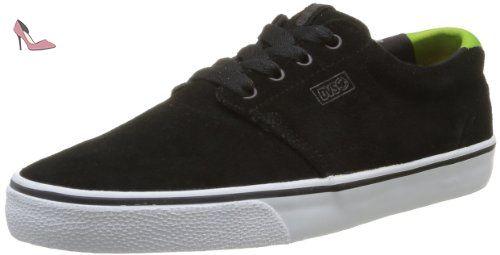DVS Daewon 13 Ct, Chaussures de skateboard homme - Noir (Black Poster Suede)