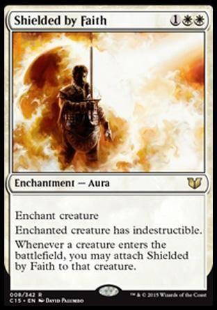 Shielded by Faith   Busca de Cards   LigaMagic