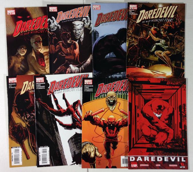 Lot of 70 Marvel Daredevil Comic Books - Mostly Late 1990s to 2000s VF - NM Condition! New TV Series