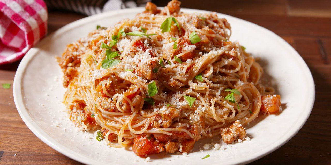 Photo of Ground Turkey Bolognese