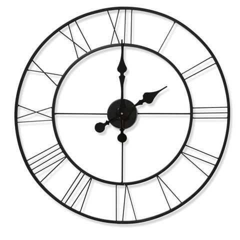 Large Metal Clock Clock Metal Clock Home Decor