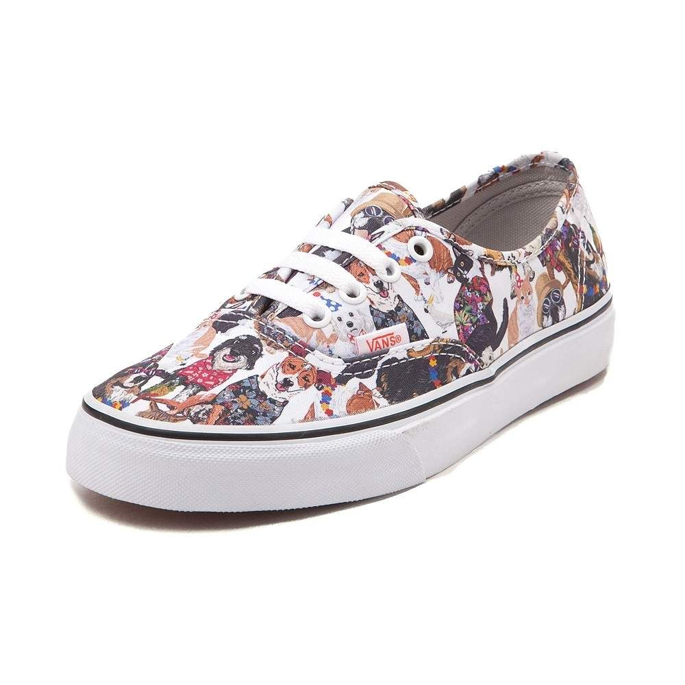 Fashion · Vans Authentic ASPCA Party Animals Skate Shoe