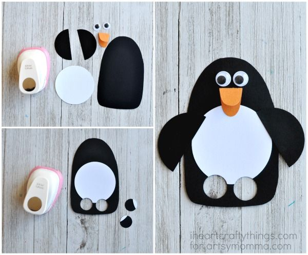 Kids Will Love This Diy Penguin Puppet Craft Puppet Crafts