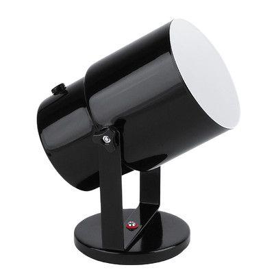 Ebern Designs Kinzey Spot Light 8 Quot Table Lamp Black