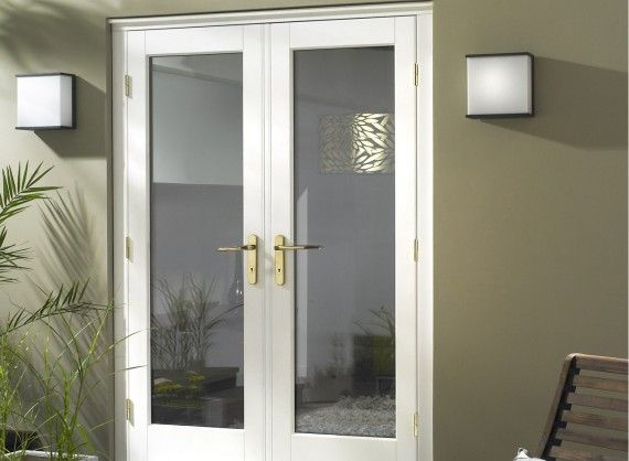 Master 1 2m 4ft 5m 5ft And 8m 6ft White French Doors