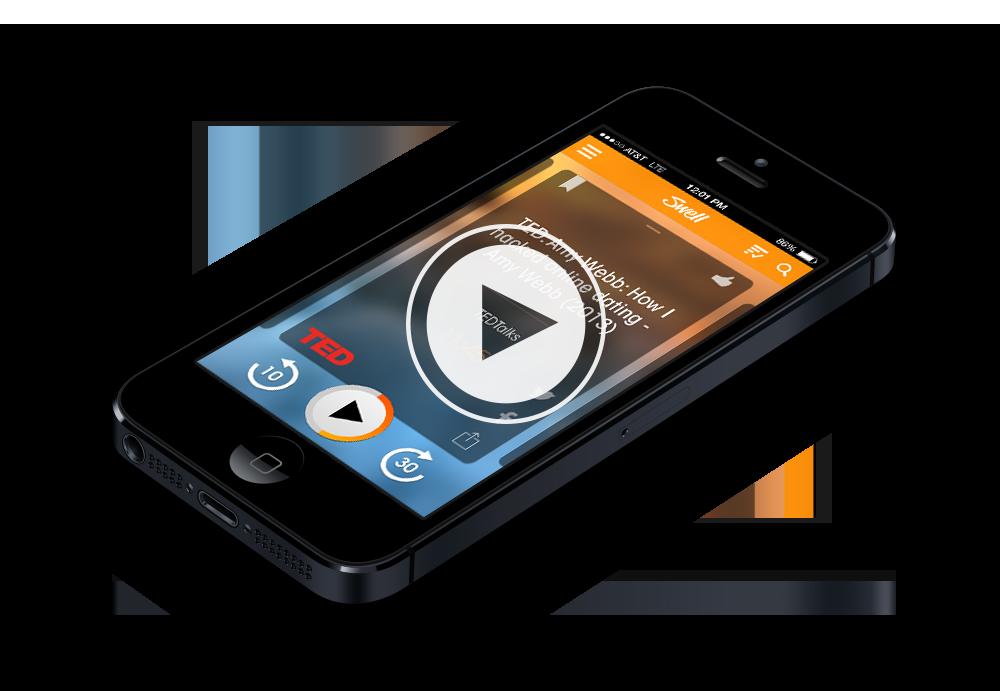 Swell News Radio Rebooted Apple, Radio, Apple tv