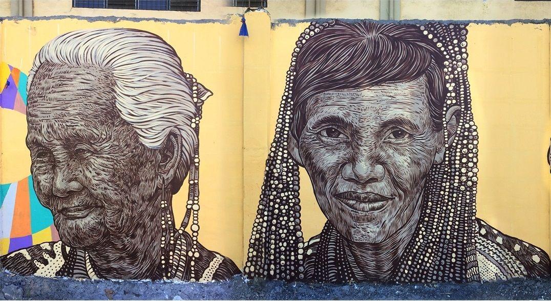 Streetart Flash Archie Oclos Davao City Philippines Street