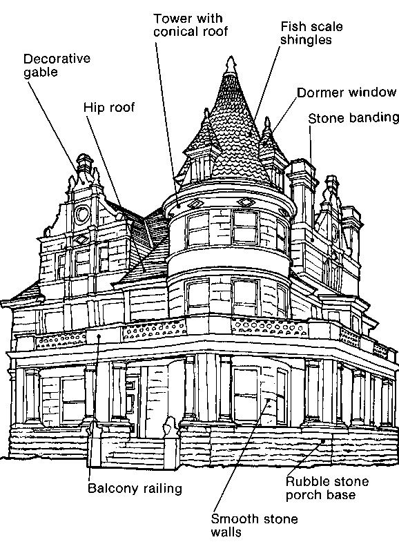 Chateau 1880 To 1905 City Planning Buildings Historical Architecture Architecture Old Dream Home Design