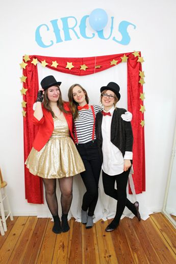 Circus Theme Party And Costumes Luloveshandmade Costume Party Themes Circus Theme Party Carnival Birthday Party Theme
