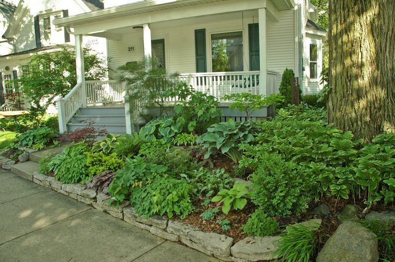 Landscaping Ideas For Slopes Three Views Below Of A
