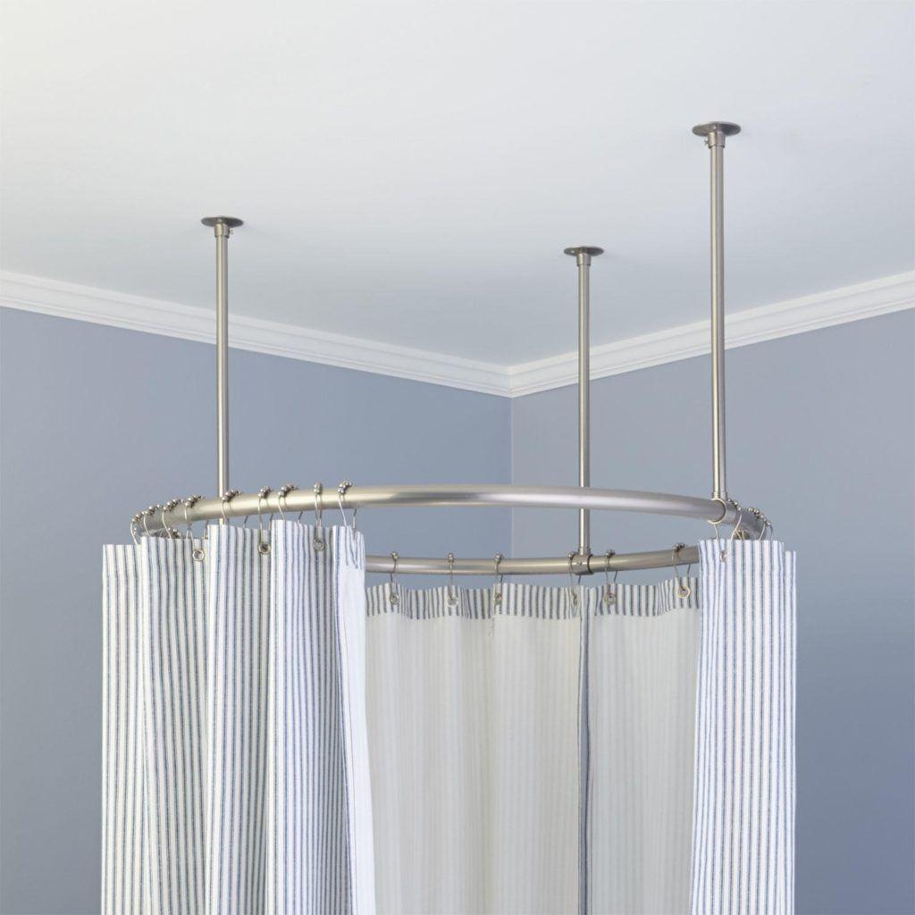 Shower Curtain Rail Circular