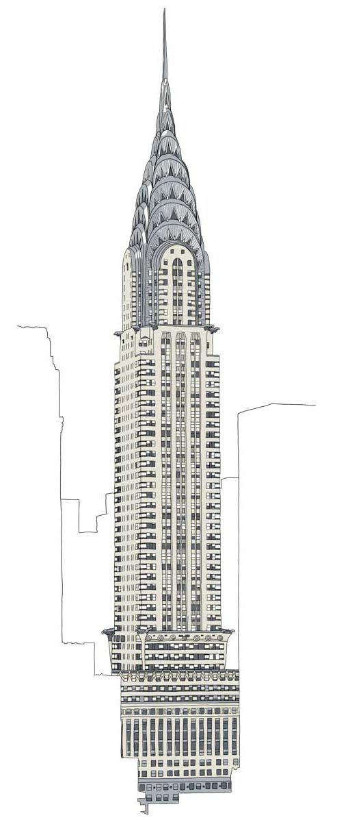 Chrysler Building With Images Art Deco Buildings Building