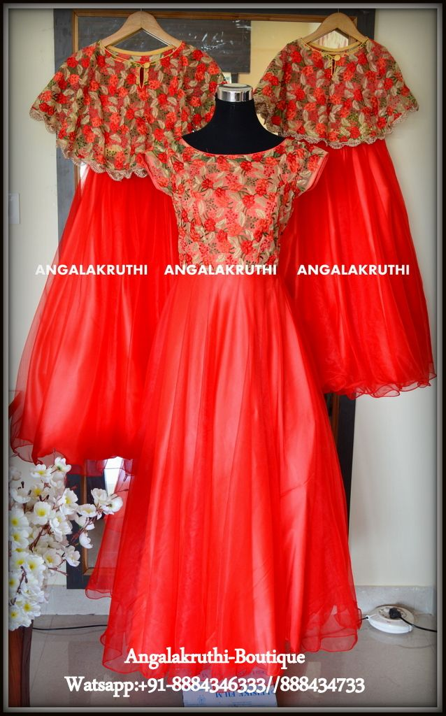 Mom N Daughter Designs In Bangalore By Angalakruthi