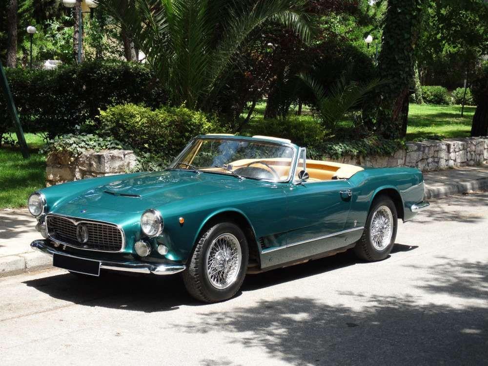 1961 maserati 3500 gt spyder vignale - classic cabriolet top
