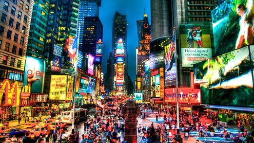 XXL Poster New York Times Square Broadway USA Big Apple