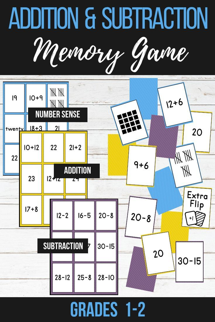 Develop your students addition and subtraction skills with